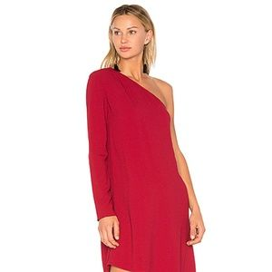 Theory One Shoulder Dress